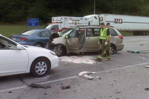 Garrity car crash.