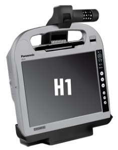 Powered Docking Station for the Panasonic Toughbook H1 Health and H1 Field