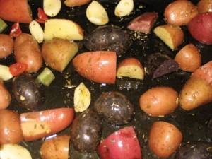 Potatoes; Photo Keri Losavio