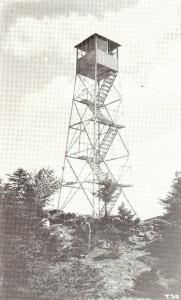 Original Mt. Blue Lookout Tower