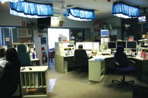 Communications center in Cairns