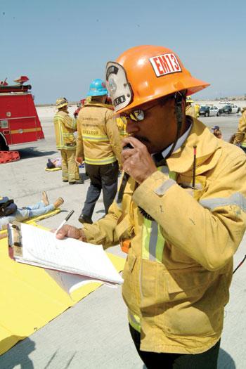 Disaster Communications; Photo Rick McClure