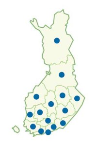 Figure 1: Map of Current Emergency Response Centres