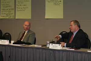 Bill Schrier and John Hunt