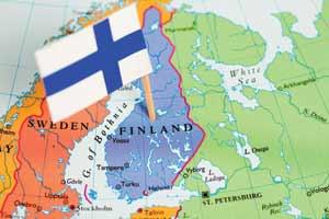 Map of Finland; iStock/Pawel Gaul