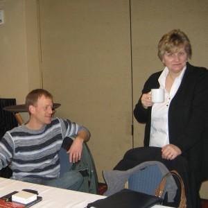 Chris Stucke and Diane Lind