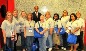 A Picture with APCO Executive Director George S. Rice Jr.