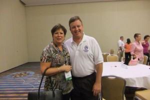 Martha Carter with APCO International President Bill Carrow