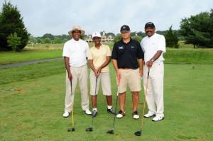 The golfers of Harris Corp.
