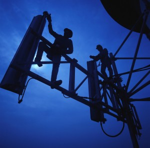 Cellular Phone Tower Installation