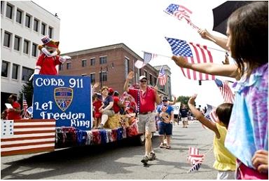 Photo Courtesy Linda Davis, 9-1-1 operations manager, Cobb County 9-1-1