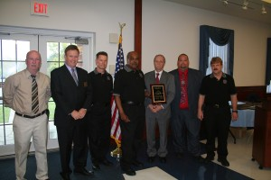 Chapter President Chris McNamara, Bill Carrow & the Delaware Team of the Year