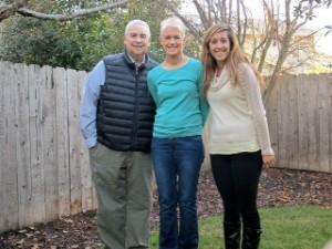 Karen Greenstein with her family