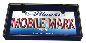 Mobile Mark's Covert License Plate Frame Antenna