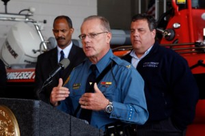 N.J. Officials Brief Crowd at Anglesea Fire Company