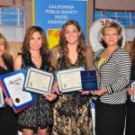 Kelli Morton, Edith Davenport, Cheryl Austin, CPRA President Adriana Spirescu and Joy Nasser