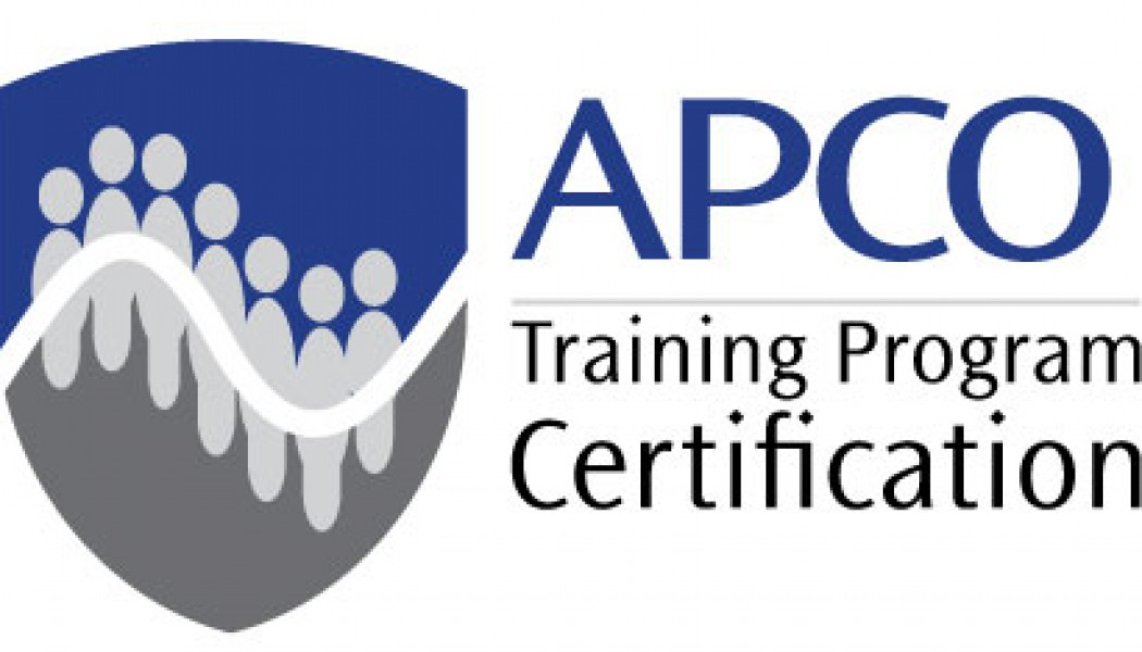 Fairfax County, Virginia Department of Public Safety Communications, Receives APCO Agency Training Program Certification (P33)